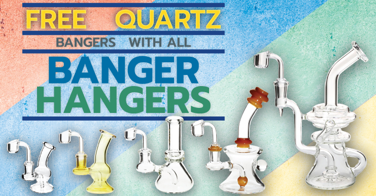 Banger Hangers for dabbing concentrate cannabis