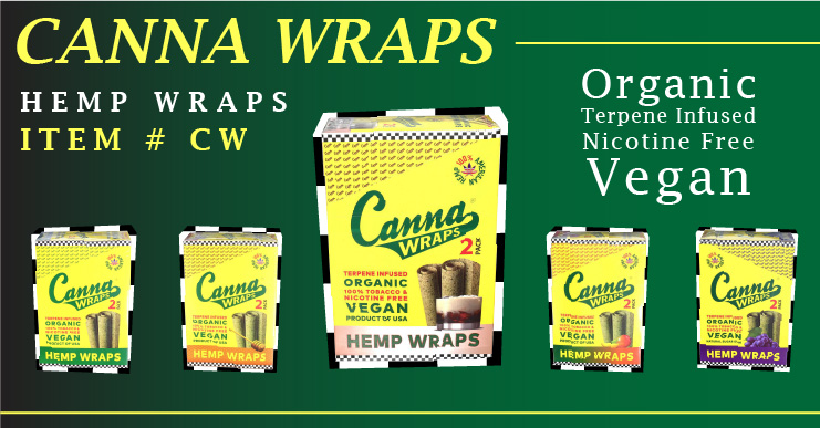 CannaWraps organic wraps for cannabis