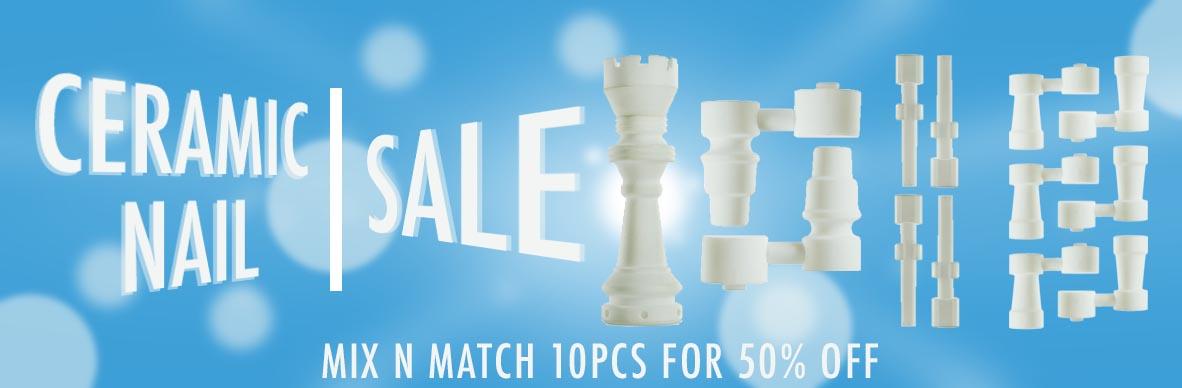 Ceramic Nails on Sale Mix n Match