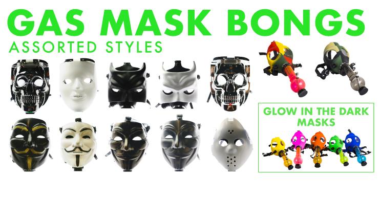 Gas Mask Bongs
