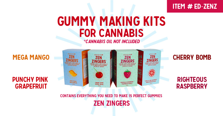 Zen Zingers Gummy Making Kits