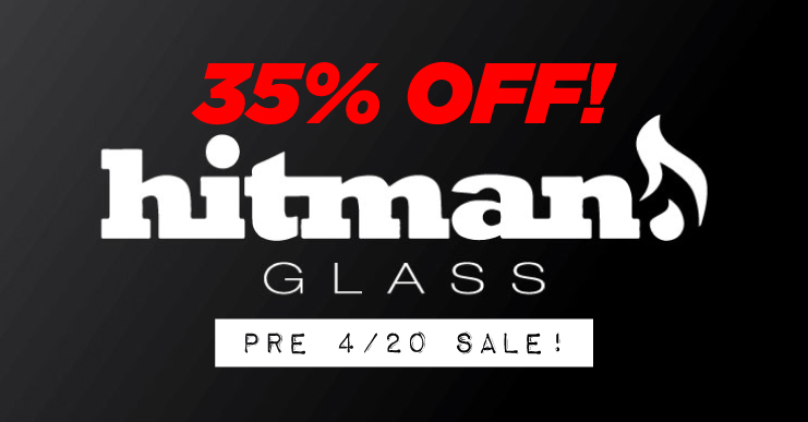 Hitman Glass Bongs Dab Rigs