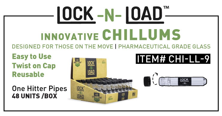 Lock n Load Chillums one hitter