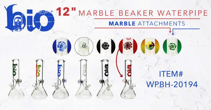 Bio Bongs with a marble