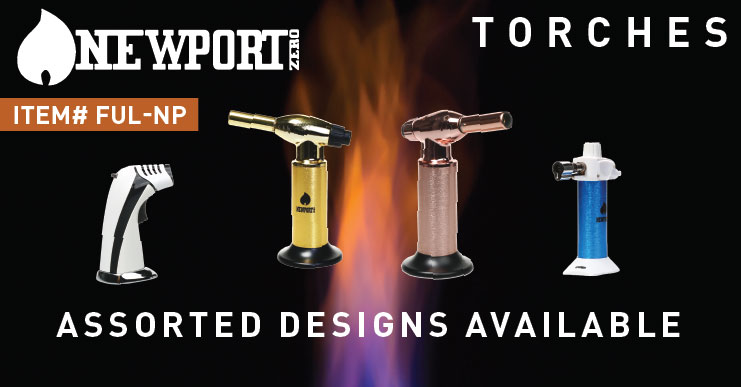 Newport Torches for Dabbing Concentrates