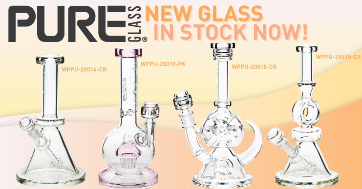 Pure Glass Bongs and Dab Rigs wholesale prices