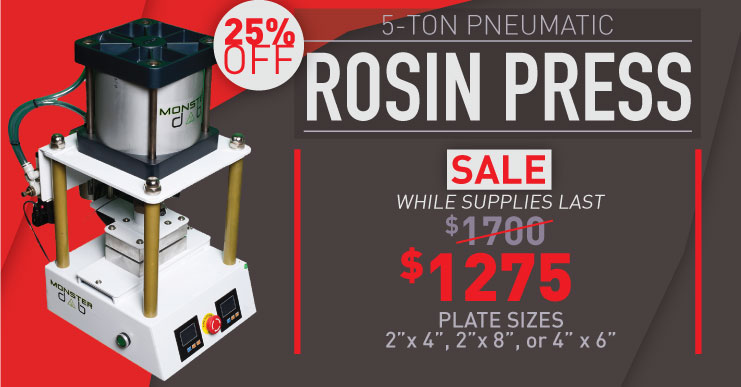 Rosin Press on Sale various Plate Sizes
