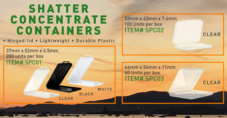 Shatter Containers