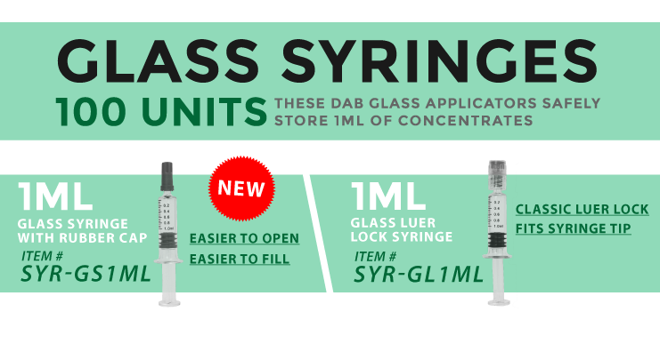 Cannabis Packaging Syringe