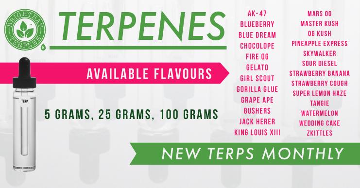 Terpenes for Cannabis