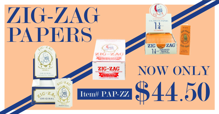 Zig Zag Papers Sale