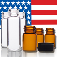 USA Made Glass Vials for marijuana dispensary