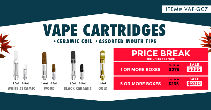 Metal Ceramic Coils Vape Cartridges